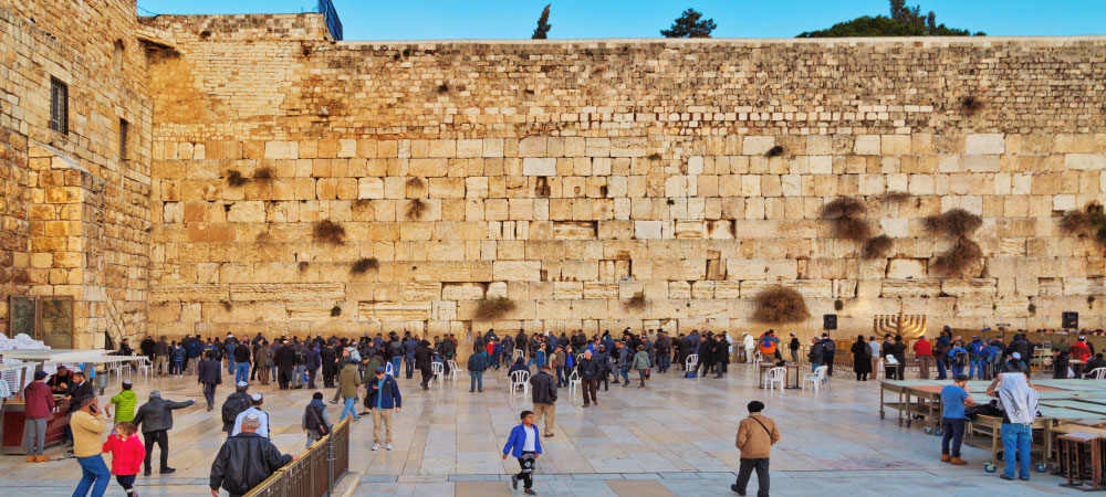Religious Tours Wailing Wall in Jerusalem