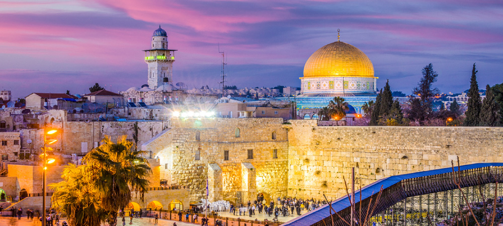 Western Wall and Temple Mount in Jerusalem Israel
