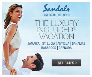 sandals beaches